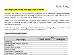 7 free marketing budget templates marketing com au