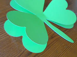 st patrick u0027s day shamrock wreath made in a day
