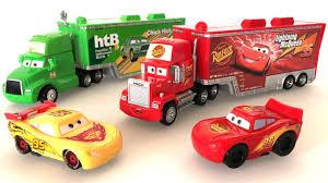 disney pixar mack truck hauler cars 3 tomica disney truck toys