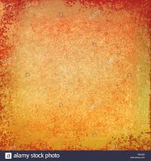 gold background with rough orange and red textured grunge paint