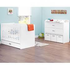 commode chambre bébé pack duo enzo lit bébé et commode à langer pinolino