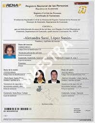 formato de acta de nacimiento en blanco gratis ensayos partida de nacimiento fe de edad deguate com
