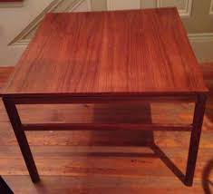 ebay mid century modern coffee table arbatove mid century danish modern coffee end table 1950 risom hans
