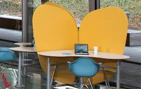 Office Desk Privacy Screen 3rings The Non Cubicle Cubicle Liquid Privacy Screen By Bretford