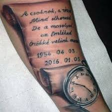 family quote mens scroll rib cage side tattoos tattoos