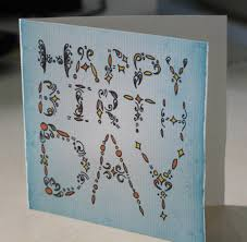 card invitation samples how to make a birthday card amazing blue