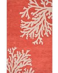 Orange Modern Rug Check Out These Bargains On Modern Coastal Orange Ivory Wool Area