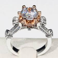 cinderella engagement ring 14k gold 1 5 carat diamond cinderella pumpkin carriage fairy