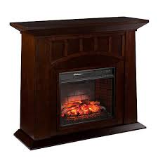 Infrared Electric Fireplaces by Lowery Infrared Electric Fireplace Espresso 8225172 Hsn
