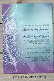 Peacock Wedding Programs Peacock Wedding Invitations Reduxsquad Com