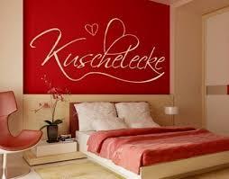 wandtattoo schlafzimmer rot übersicht traum schlafzimmer