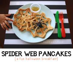 halloween pancakes spiderweb pancakes archives mama papa bubba