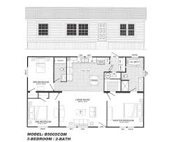 3 bedroom floor plan 3 bedroom floor plan b 5005 hawks homes manufactured modular