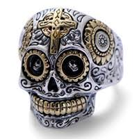 wholesale sterling silver skull rings buy cheap sterling silver