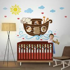 Noah S Ark Decorations Noahs Ark Nursery Thenurseries
