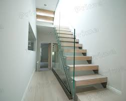 Glass Banisters Cost Wood Staircase Glass Balustrade Indoor Stair Villas Buy Indoor