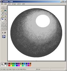 mspaint tutorial airbrush interpolation for shaded surfaces
