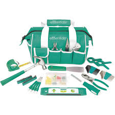 House Essentials by Essentials 53 Piece Around The House Tool Kit Teal Walmart Com