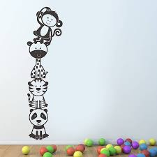 attractive wallpaper stickers for kids bedroom ideas shdecors com wall stickers for kids bedroom ideas jungle animal wall sticker for children room panda stickers cat