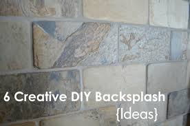 100 diy tile kitchen backsplash painted tile backsplash