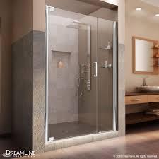 39 Shower Door Dreamline Elegance 39 To 41 In Frameless Pivot Shower Door Clear