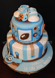 sport themed baby shower sports themed baby shower cakecentral