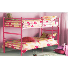 Youth Bedroom Furniture Calgary Pink Bunk Beds Low Loft Bed Tent Kit Pink White Wood Bunk Bed