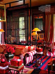 bohemian style living room fro british designer anouska hempel
