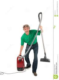 house keeping man with fun while housekeeping royalty free stock photos image