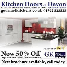 replacement kitchen cupboard doors exeter gk advert proof on behance