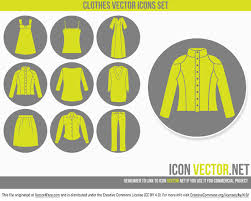 clothes icons free vector art