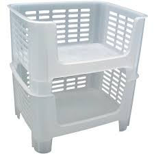Clothes Storage Containers by Plastic Storage Bins And Crates At Organize It