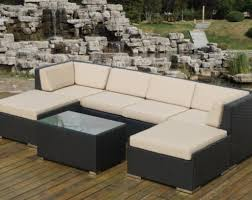 Patio Sectional Sofa Fascinating Genuine Ohana Outdoor Sectional Sofa And Chaise Lounge