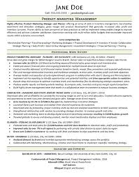 marketing manager resume exles product marketing manager resume exle merchandise planner