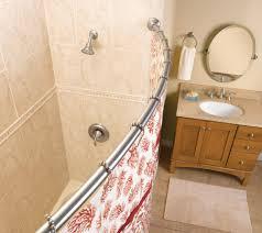 Bath Bliss Curved Shower Rod Moen Shower Curtain Rods Mobroi Com