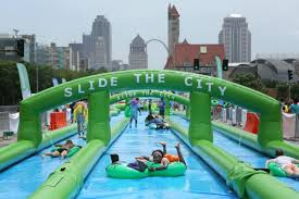 giant water slide returning to st louis this summer