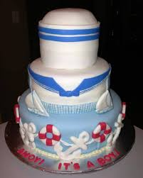 nautical theme baby shower cakes nautical theme baby shower