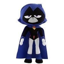 Teen Titans Halloween Costumes Teen Titans Raven 10 U201d Plush Figure U2013 Bleacher Creatures