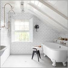 Small Attic Bathroom Sloped Ceiling by Carrara Marble Tile Shower The Best Option Attic Bathroom Sloped