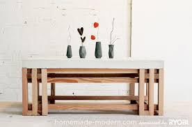 Rustic Coffee Table Diy Coffee Table Concrete Coffee Table Diy Home Interior Design