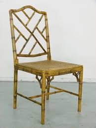 Chinese Chippendale Dining Chairs Phyllis Morris Patio Set Dining Chairs And Table Faux Bamboo