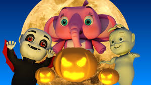 scary nursery rhymes halloween songs collection for kids