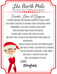 elf letter bundle return letter u0026 departure letter from your