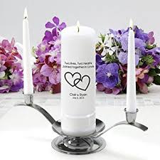 personalize candles unity candles personalized just for your wedding home