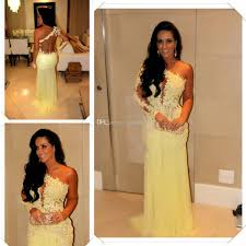 2014 yellow see through pageant dresses sheath backless marianne
