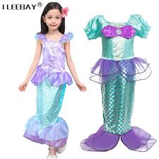 Mermaid Costumes Child Little Mermaid Costumes Compare Prices On Ariel Fancy Dress Online Shopping Buy Low Price