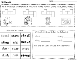 13 best phonics images on pinterest consonant blends worksheets