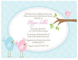 Babyshower Invitation Card Baby Shower Bird Invitations Theruntime Com