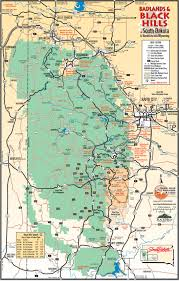 Oak Mountain State Park Trail Map by Mount Rushmore Maps Npmaps Com Just Free Maps Period
