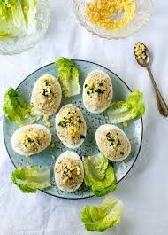 mimosa cuisine eggs mimosa with tuna deviled eggs with tuna